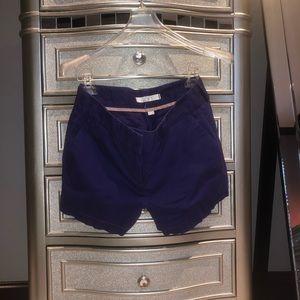 LOFT 2P Purple Shorts